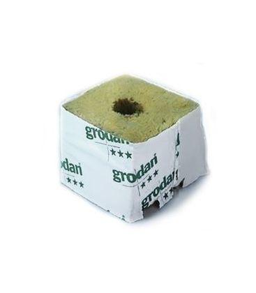Grodan Steinwollblock 4x4x4,5 cm