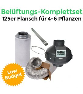 "AKF-Belüftungs-Set 125 Komplettset ""Low Budget""*"