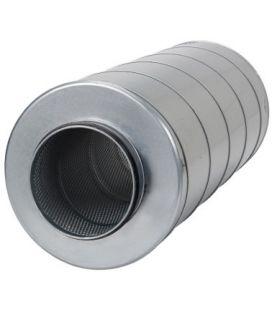 Systemair Rohrschalldämpfer 125mm x 600mm