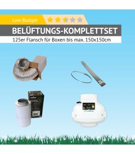 "AKF-Belüftungs-Set 125 Komplettset ""Low Budget"""