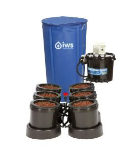 IWS Flood and Drain Remote System 6 POT inkl. Flextank 100l