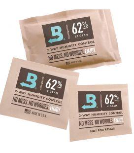 Boveda Hygro-Pack 62% RH verschiedene Größen