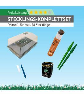 """Stecklings Set """"Mittel"""" (für max. 24 Stecklinge/Klone)"""