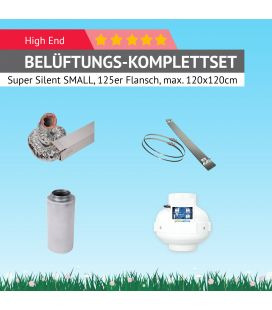 "AKF-Belüftungs-Set 125 Komplettset ""Super-Silent"" SMALL"
