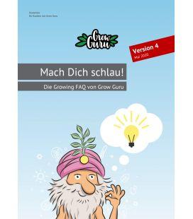 """Grow Guru """"Mach Dich Schlau"""" Growing FAQ (80 Seiten) + Sticker"""
