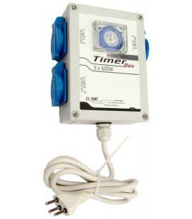 GSE Timer Box 3x 600W + Umschalter 2000W Heizung