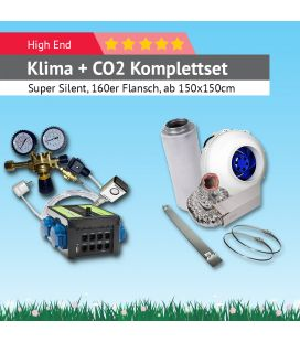 "Klima + CO2-Komplettset 160 ""Super-Silent"""