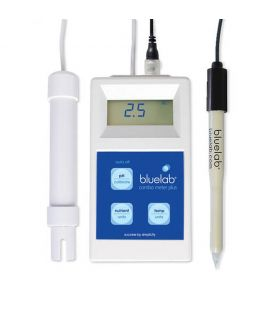 Bluelab COMBO-Meter PLUS inkl. LEAP-Sonde (Messung in Substraten) pH-/EC-/Temp