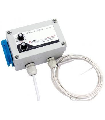 GSE digitaler Lüfter-Regler für Abluft m. Temperatursensor