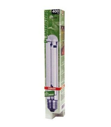 Osram Plantastar 400W Blüteleuchtmittel m. erhöhtem Blauanteil Grow Pflanzenlampe Blüte-LM