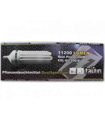 Taifun Energiesparlampe 200W 2700/6500K Dual