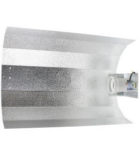 Reflektor Hammerschlag groß (vormontiert, mit E40-Fassung)